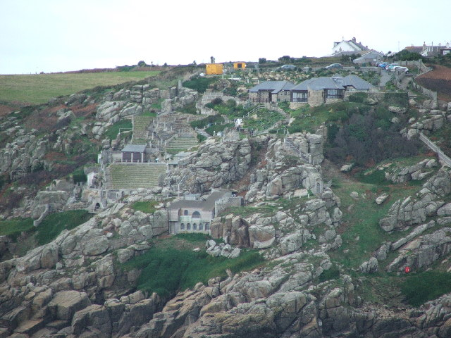 Minack Theatre History File The Minack Theatre