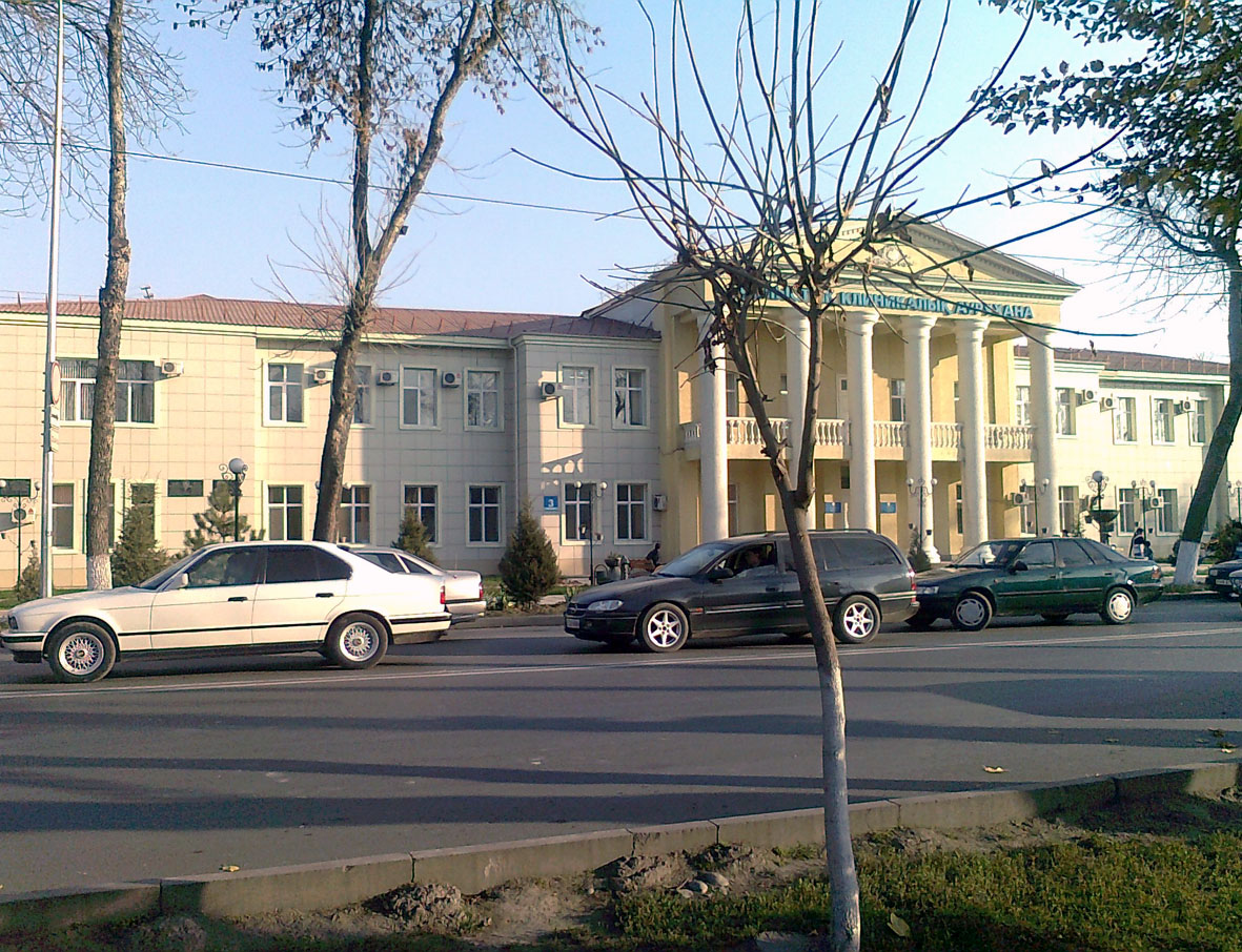 Shymkent Kazakhstan  City new picture : ... hospital of South Kazakhstan Shymkent city Wikimedia Commons
