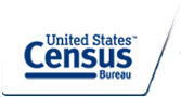 This is the current logo for the U.S.Census Bureau as o 2014