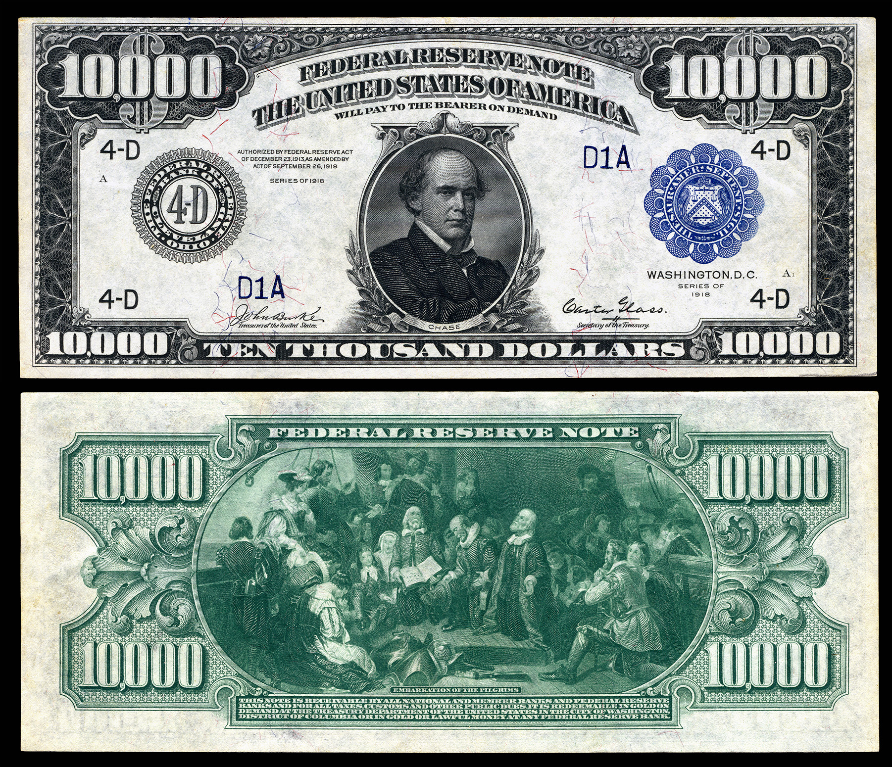 Large denominations of United States currency - Wikipedia, the ...