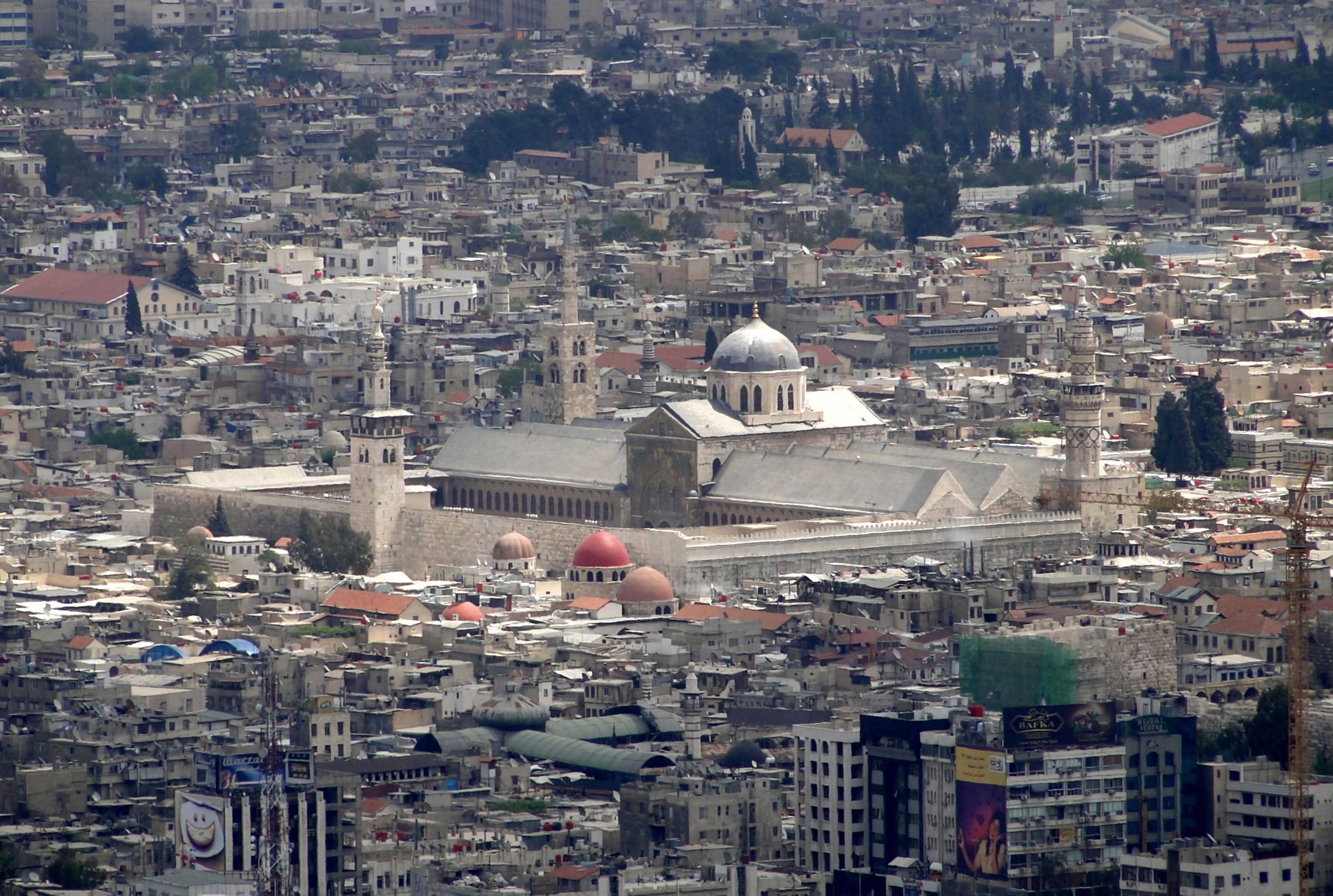 Il Portico Di Sam umayyad mosque - wikipedia