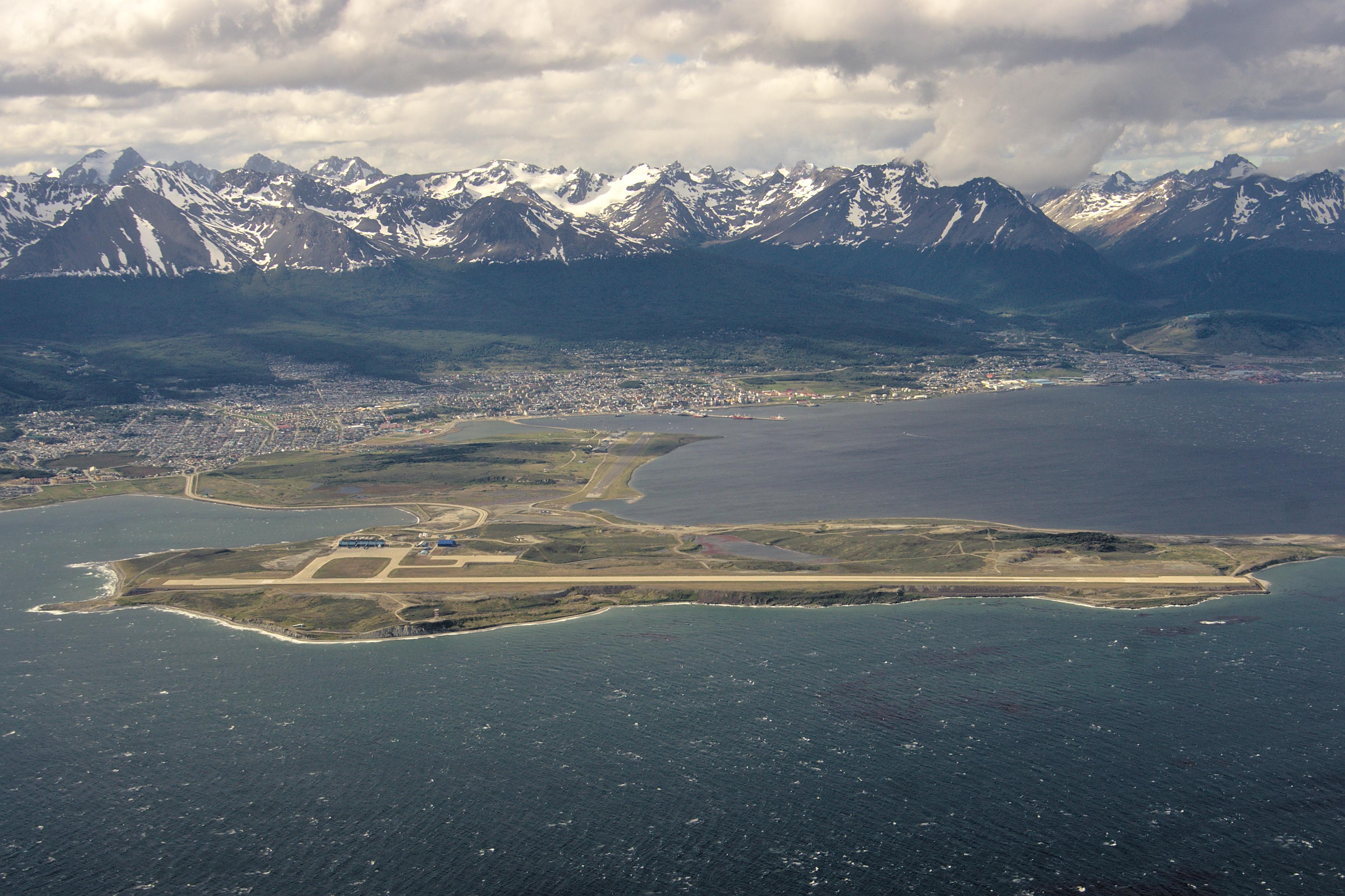 Depiction of Aeropuerto Internacional Malvinas Argentinas