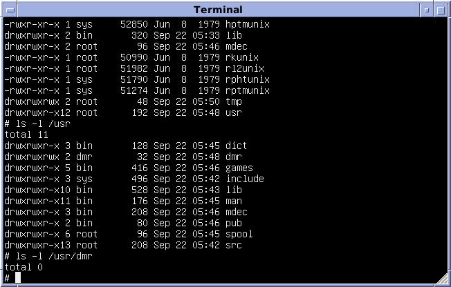 Version_7_Unix_SIMH_PDP11_Emulation_DMR.