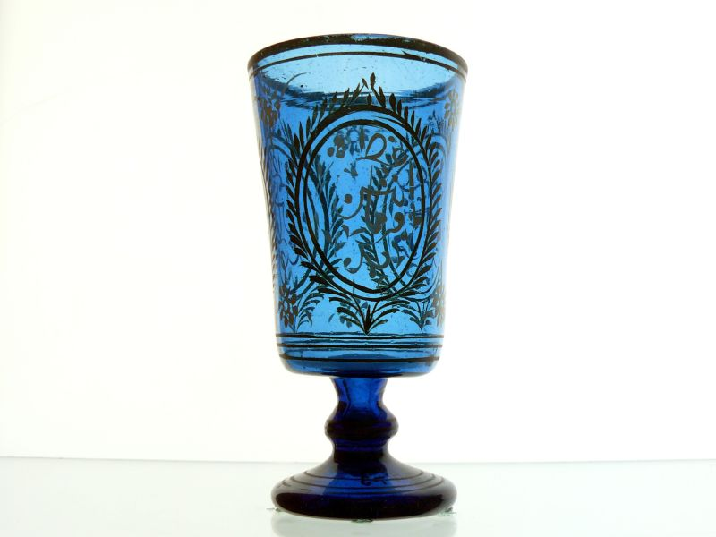 File:WLA brooklynmuseum Wine Goblet mid 19th century Blue glass.jpg