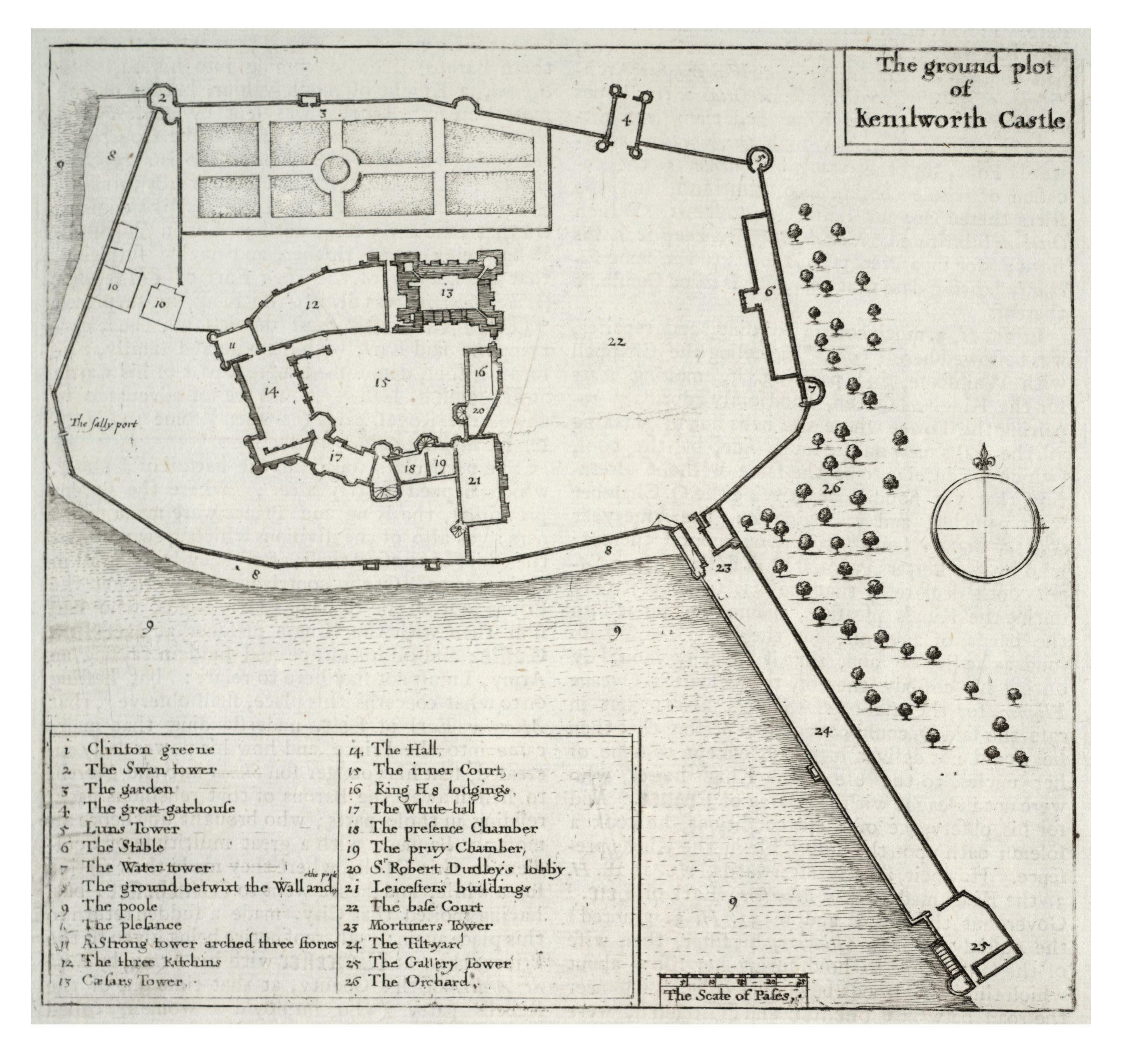 kenilworth castle military wiki fandom powered by wikia wenceslas hollar kenilworth castle plan