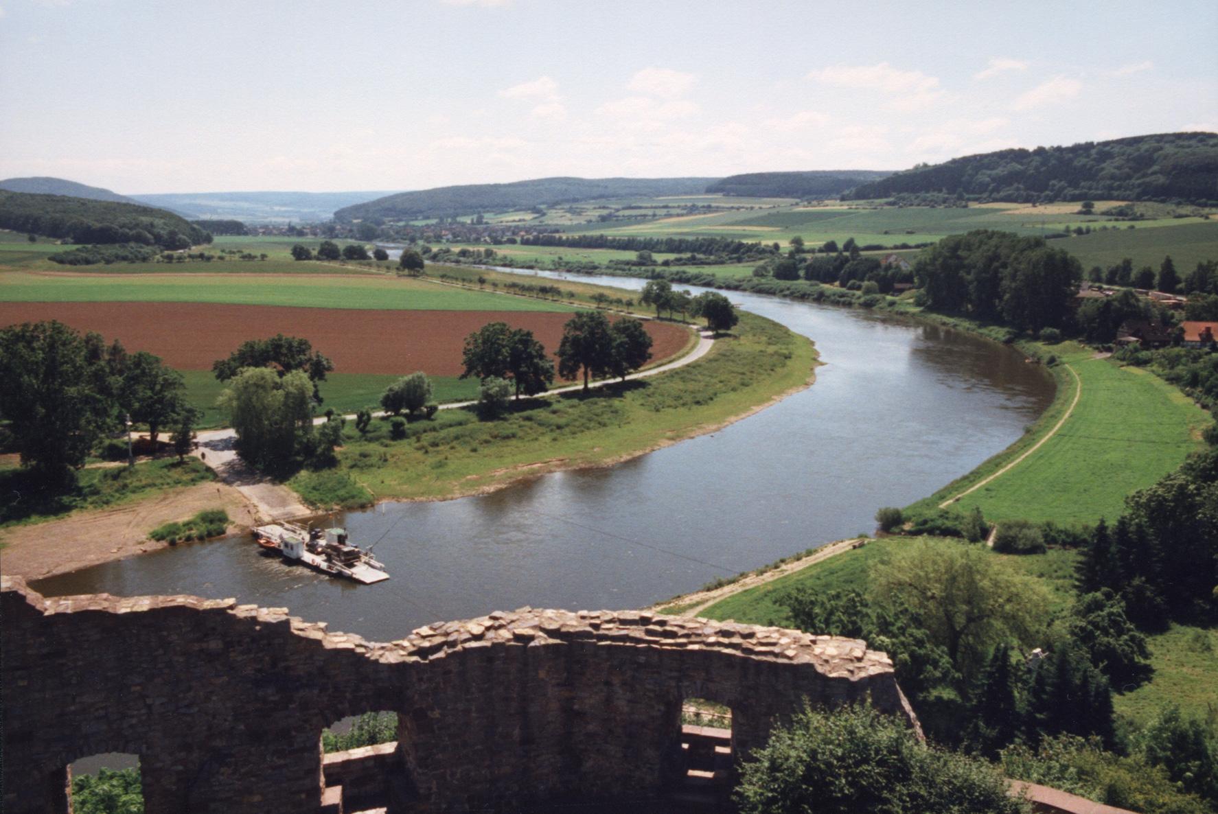 Weser Fluss