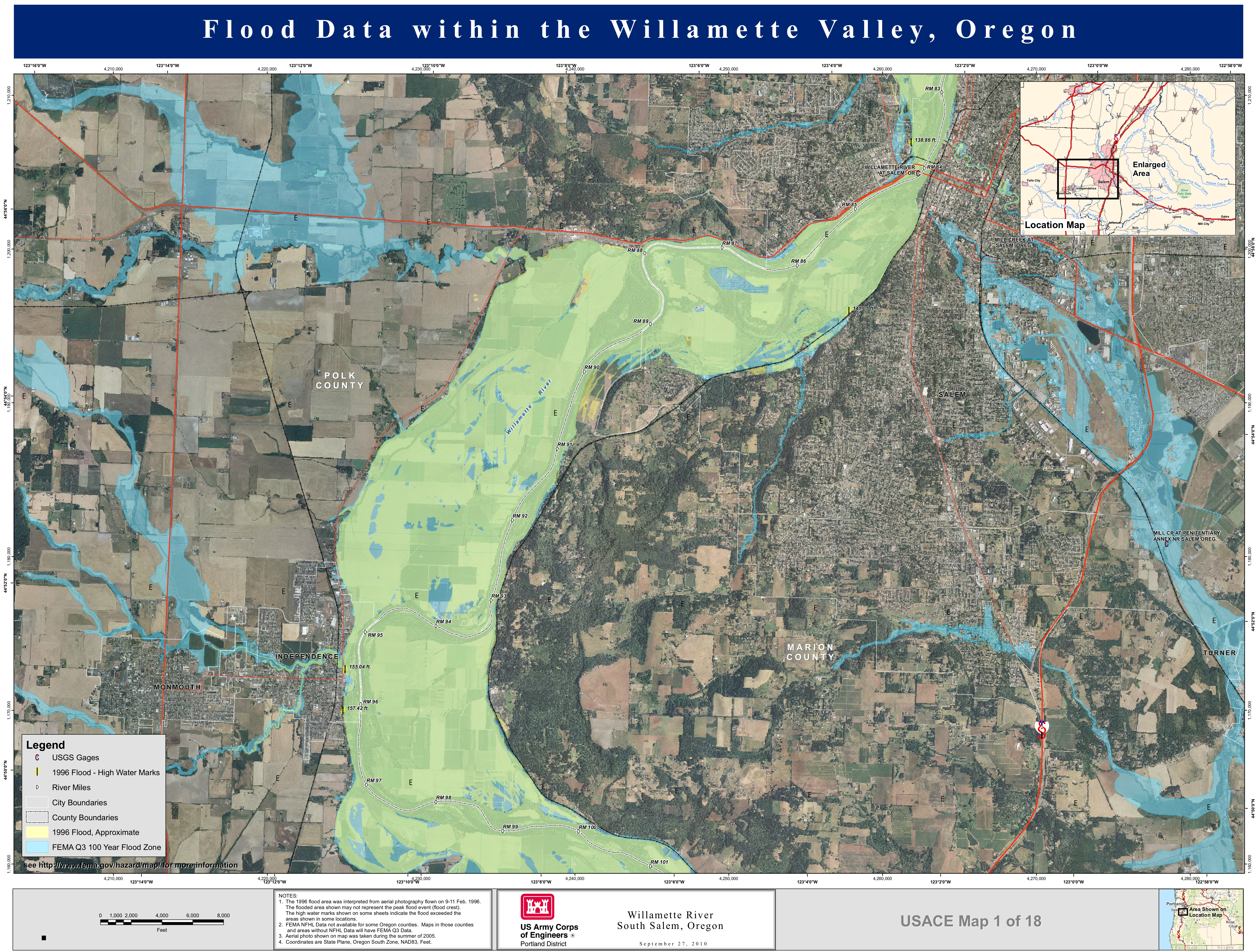 map salem oregon with File Willamette River 1996 Flooding Map on Oregon Road Map in addition Clickable besides Pasco washington besides Crater Lake Or additionally Amac Links.