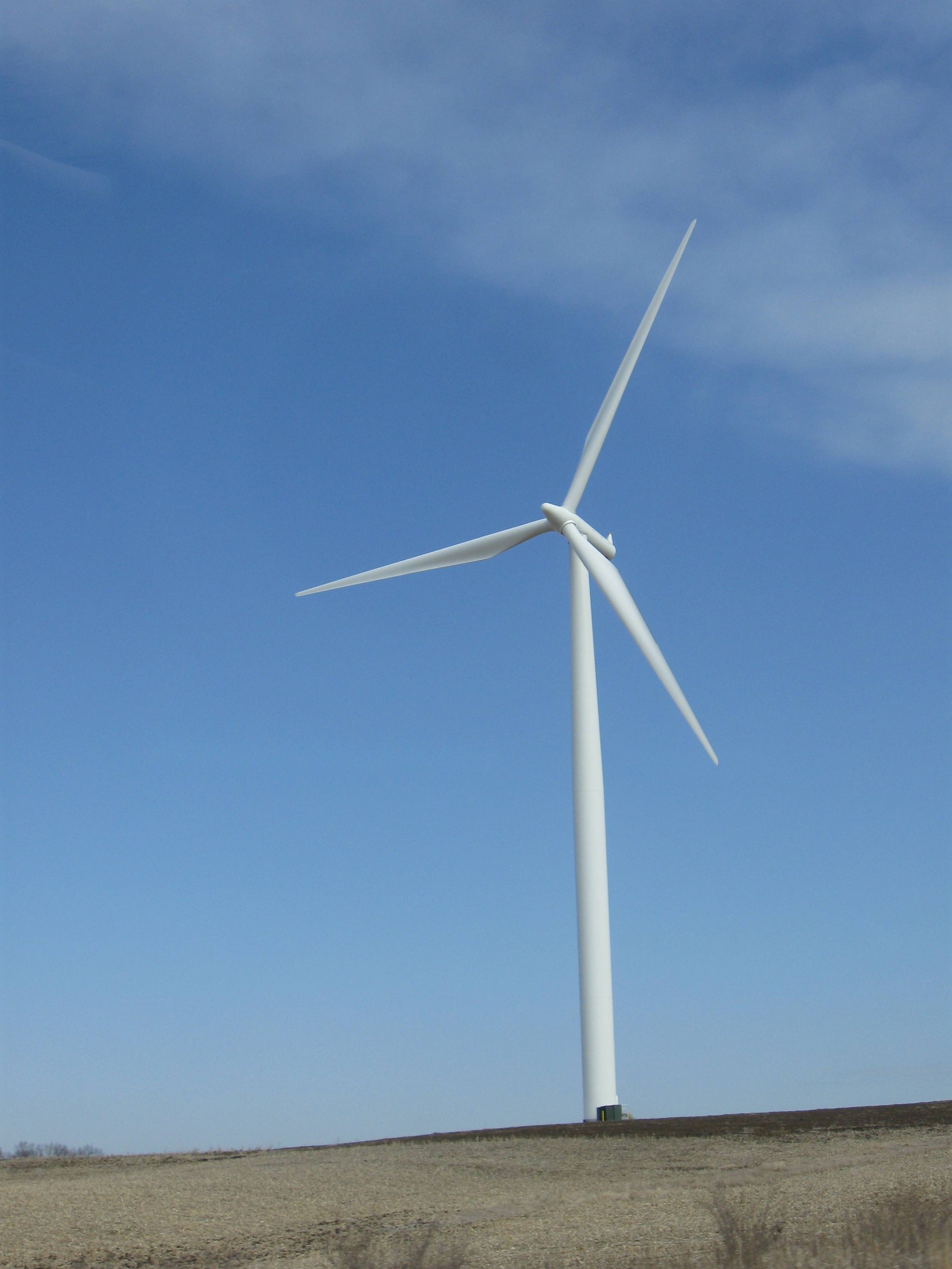 Iowa Wind Farms File:wind Turbine Walnut Iowa