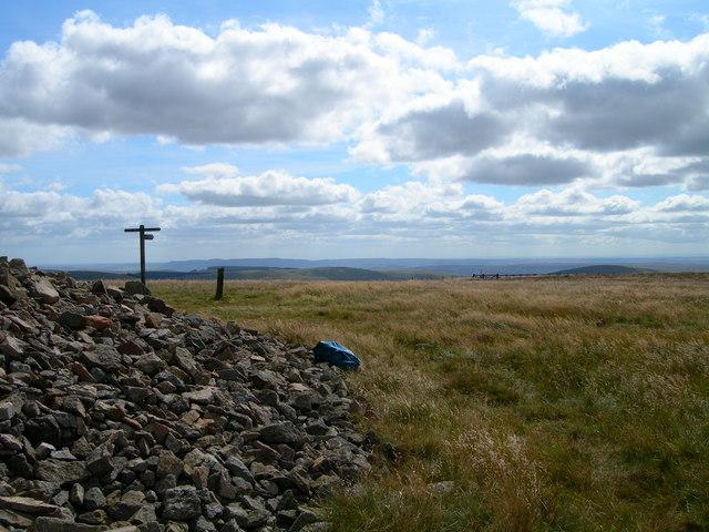 Windy Gyle summit cairn - geograph.org.uk - 640015