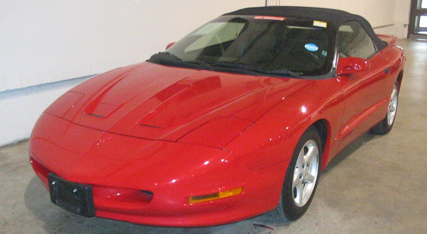 File 97 Pontiac Firebird Convertible Toronto Spring 12