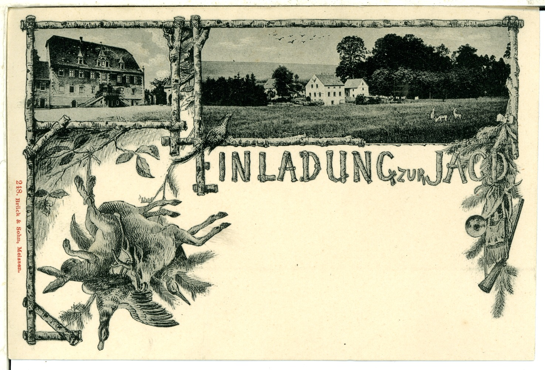 file:00248-leutewitz-1898-einladung zur jagd-brück & sohn, Einladung