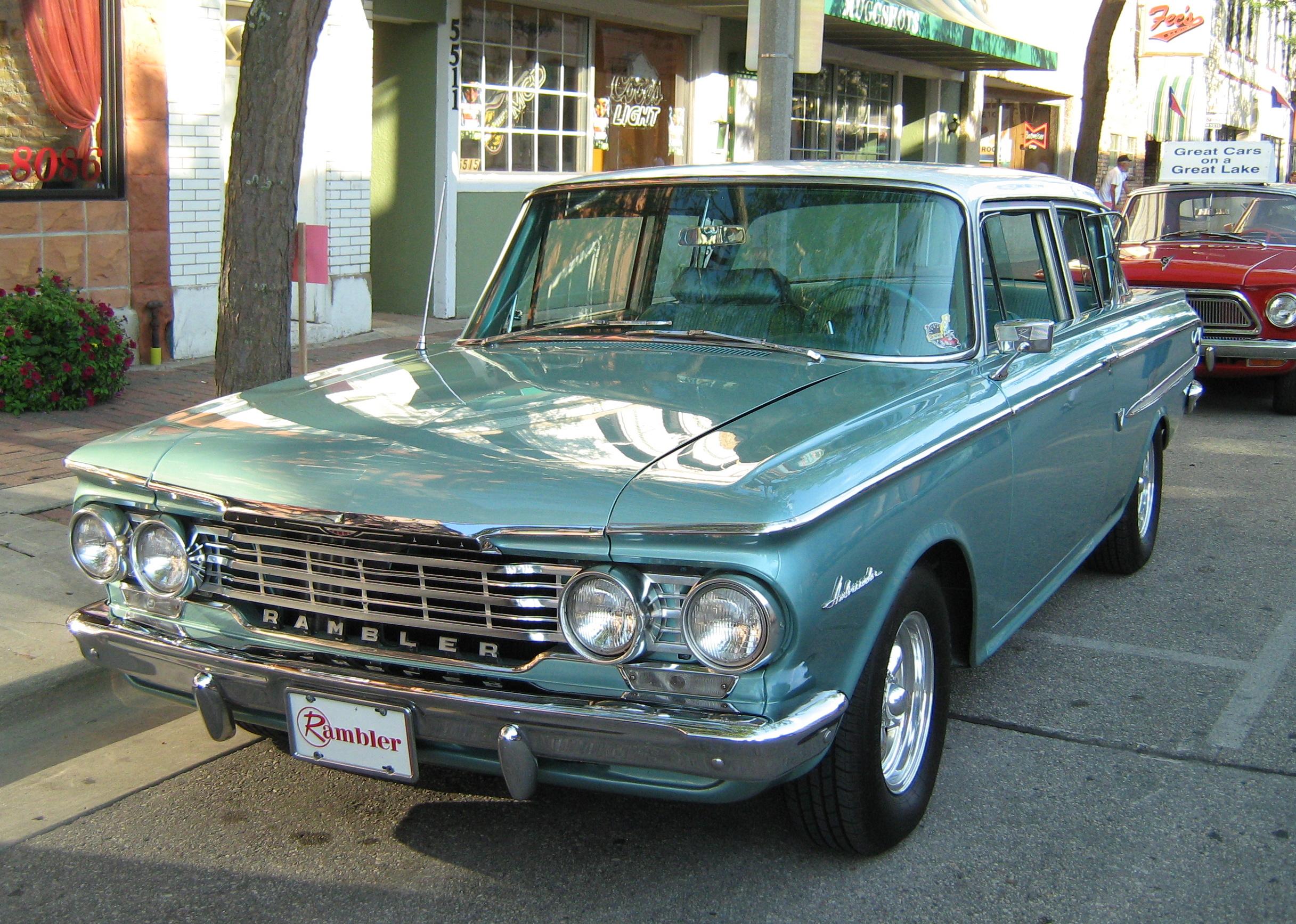 File 1962 Rambler Ambassador 2 Door Sedan Kenosha Green F
