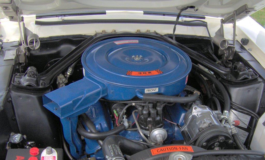 Mustang heater hose