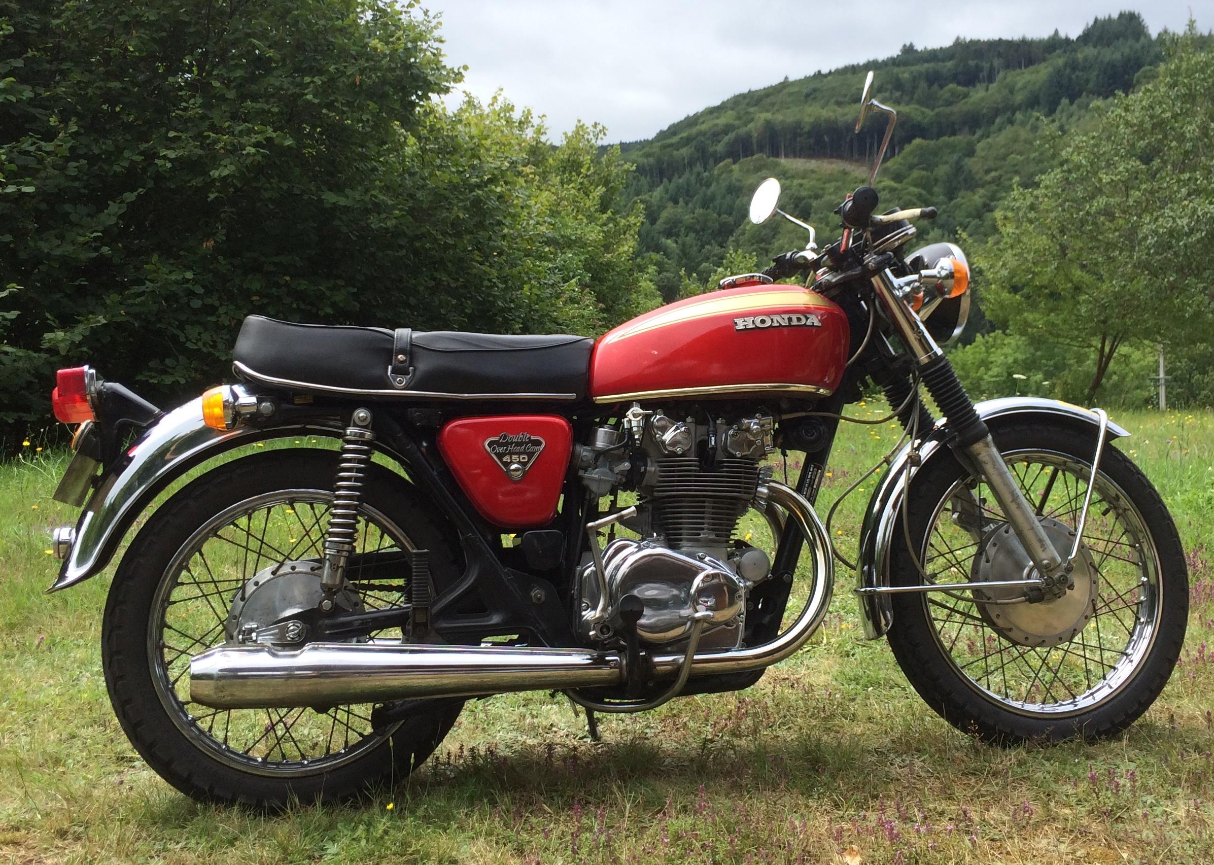 File1973 Honda CB450 K5