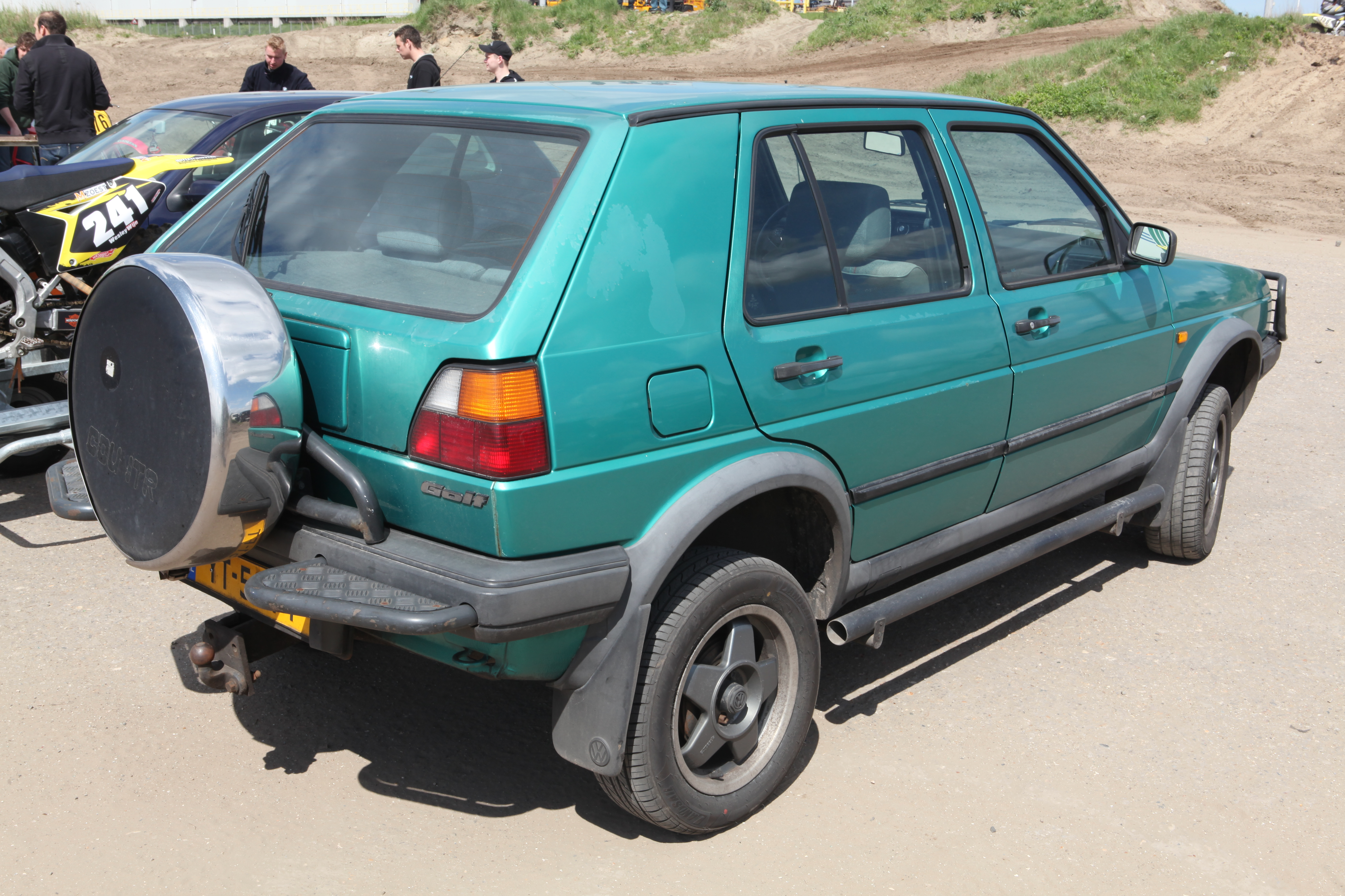 File 1990 Volkswagen Golf Country Jpg Wikimedia Commons