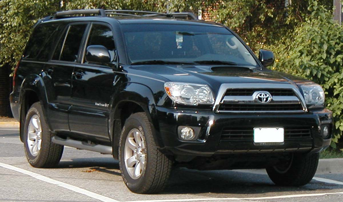 File:2006 Toyota 4Runner.jpg - Wikimedia Commons
