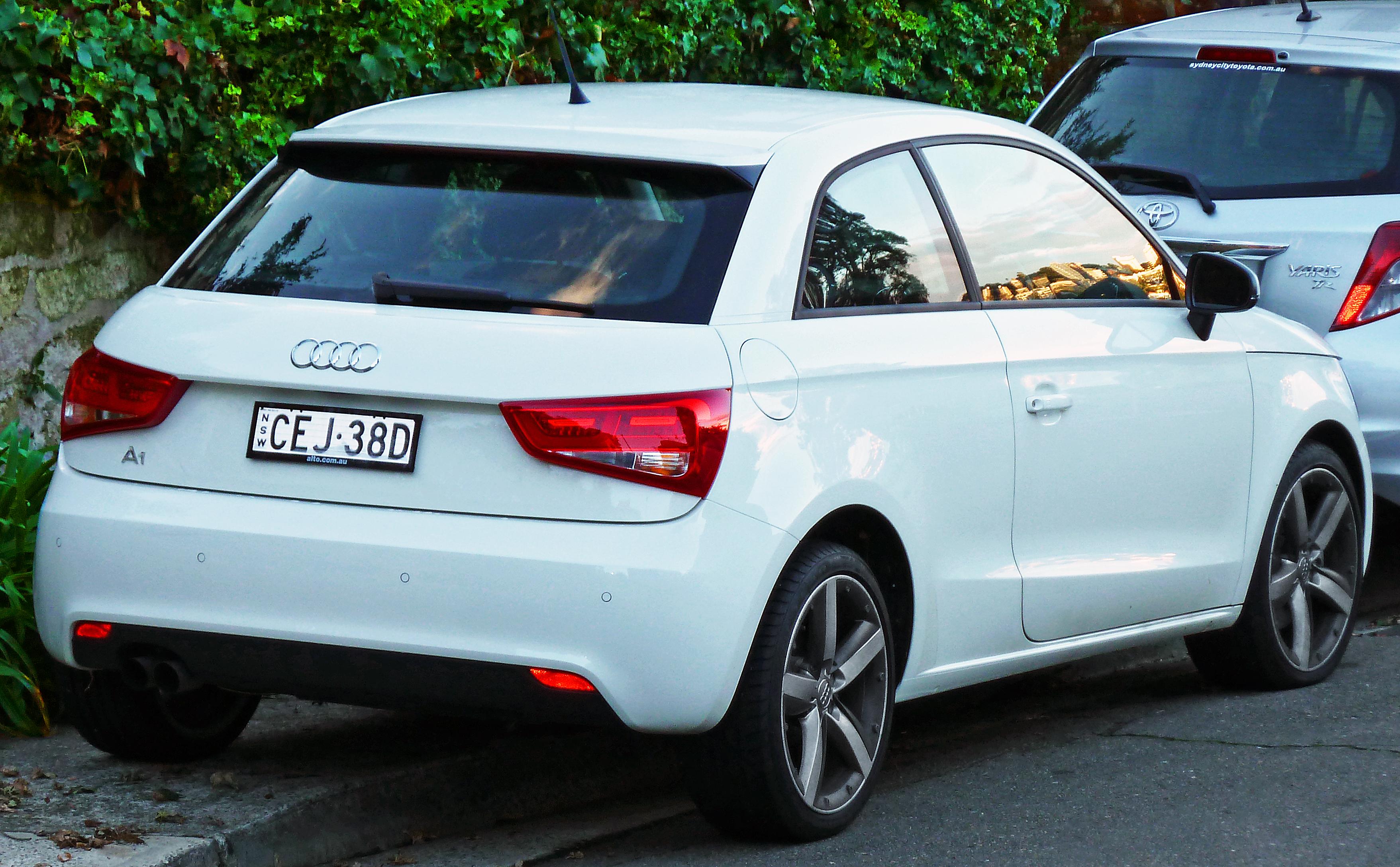 File2012 Audi A1 (8X) 3-door hatchback (2012-06 & File:2012 Audi A1 (8X) 3-door hatchback (2012-06-04).jpg ... pezcame.com