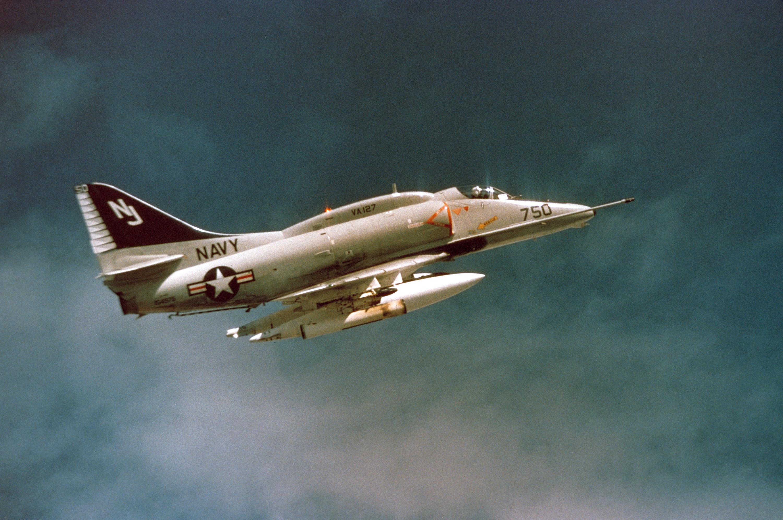 a-4b skyhawk схема