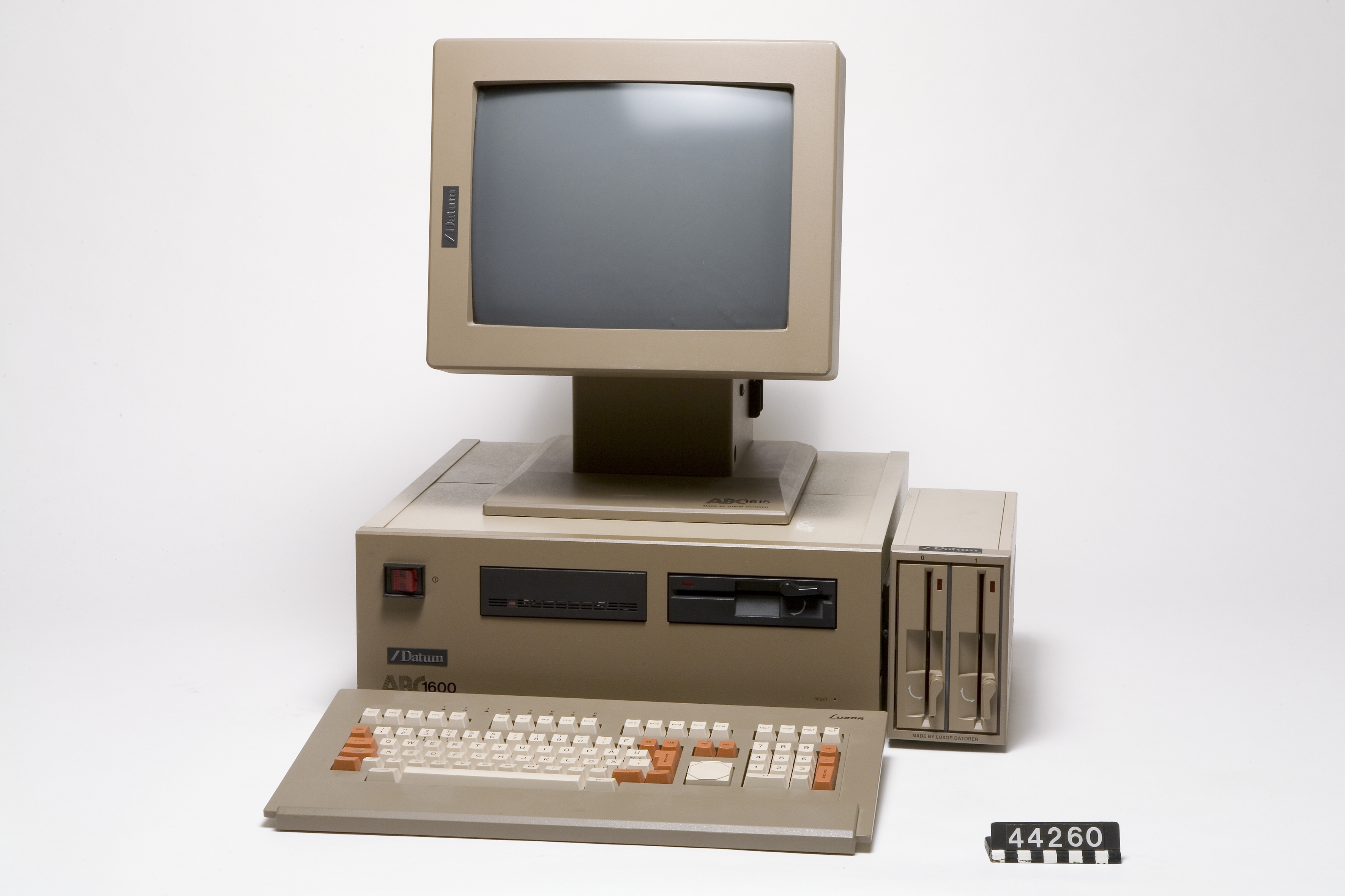 English The ABC 1600 Personal computer