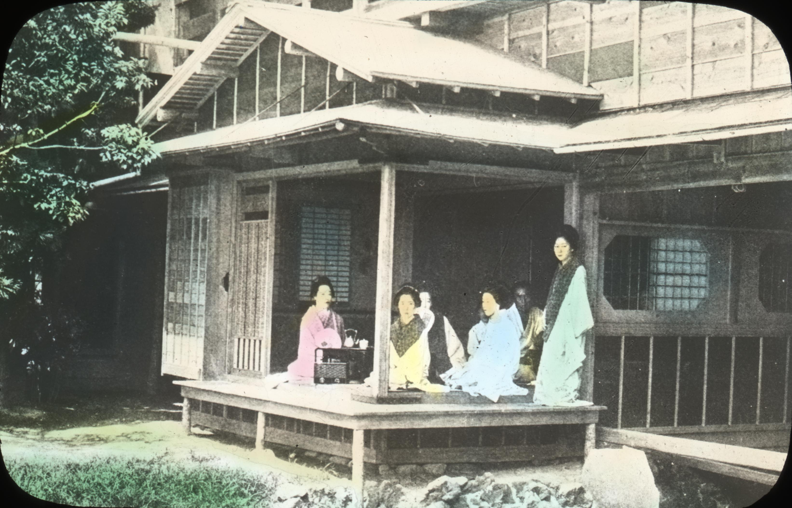 Japanese Tea House Garden Room