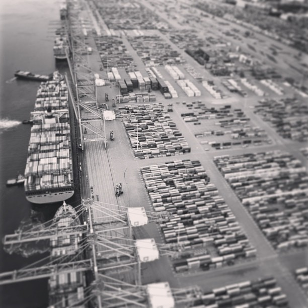 Port de Rotterdam - Photo de Maersk Line