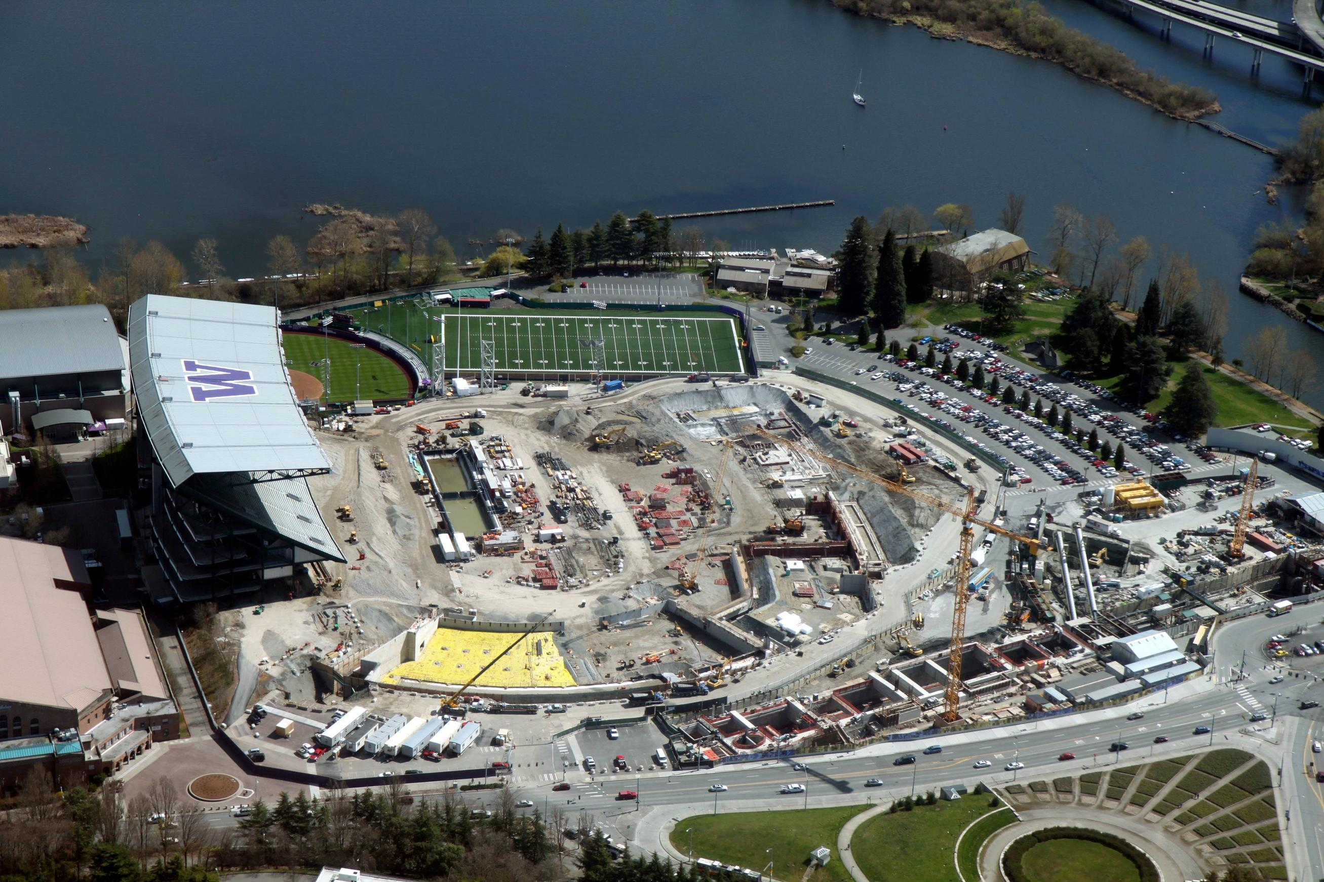File Aerial Husky Stadium April 6 2012 Jpg Wikimedia Commons