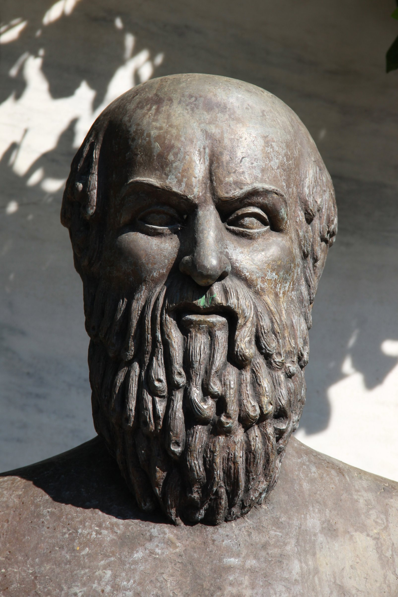 Bust of Aeschylus<br /> from [[Athens]], [[Greece]]