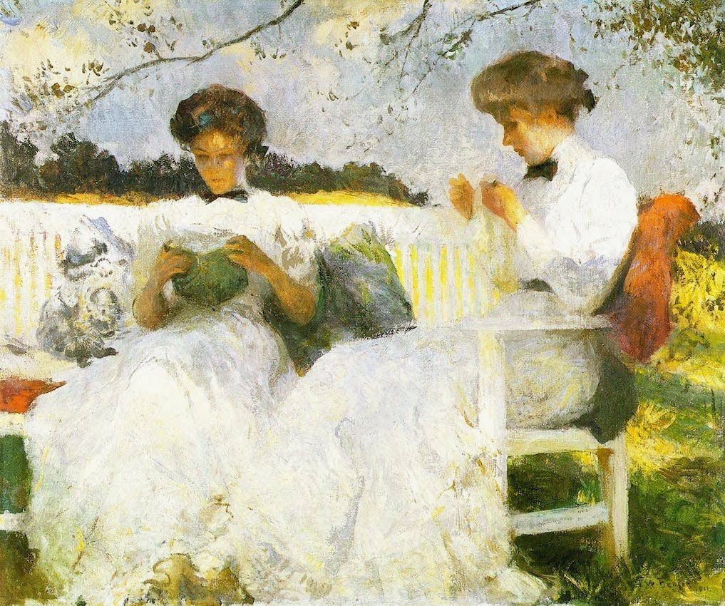 Afternoon in September oil 1913 Frank Weston Benson.jpg