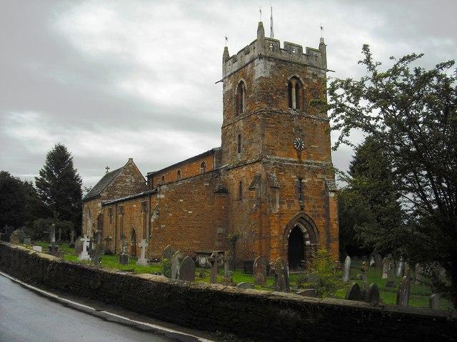 All Saints Church Rushton - geograph.org.uk - 1429206