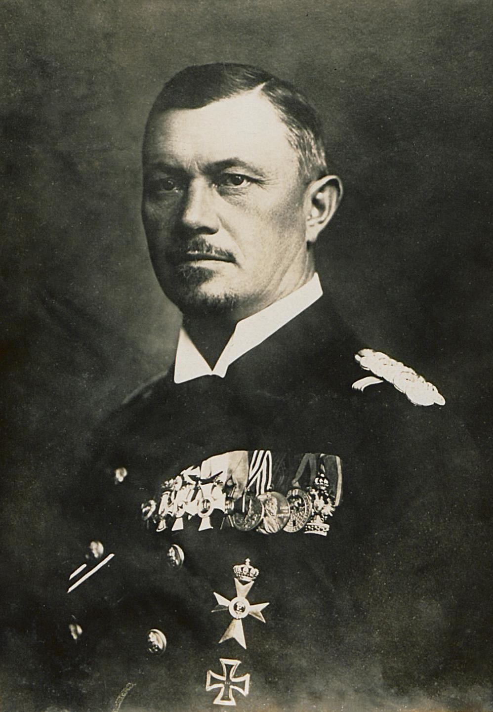 Depiction of Reinhard Scheer