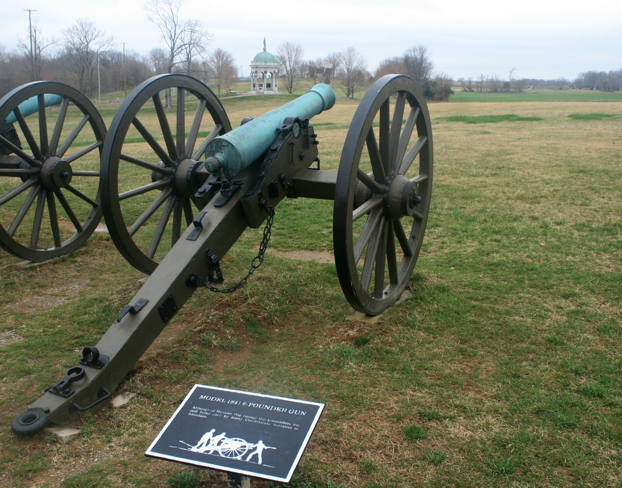 an overview of the 6 pounder field guns The model 1857 12-pounder  consisted of 6-and 12-pounder guns,  of bronze as the metal for field guns had followed a rocky course since the.