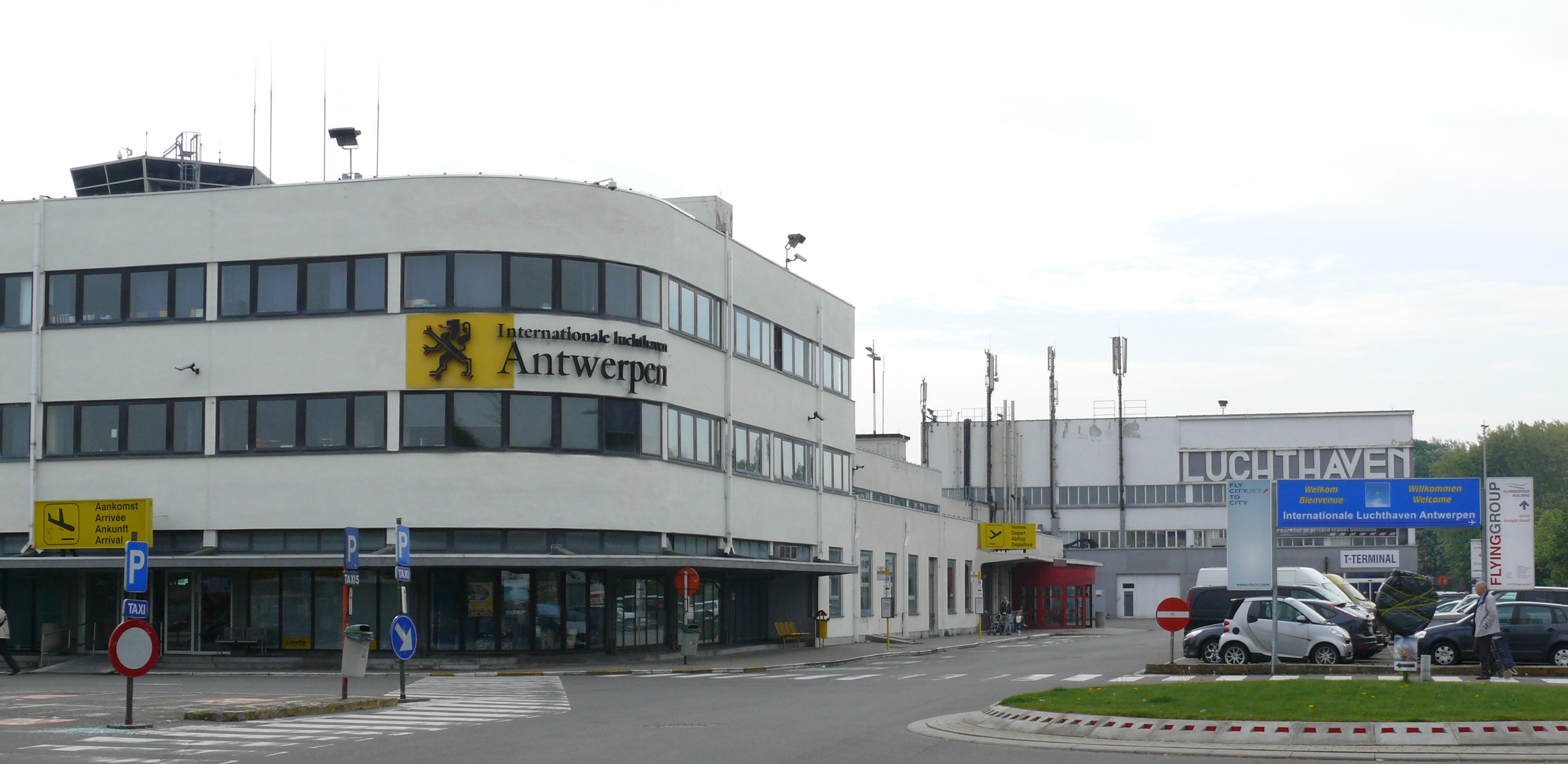 فرودگاه بینالمللی آنتورپ