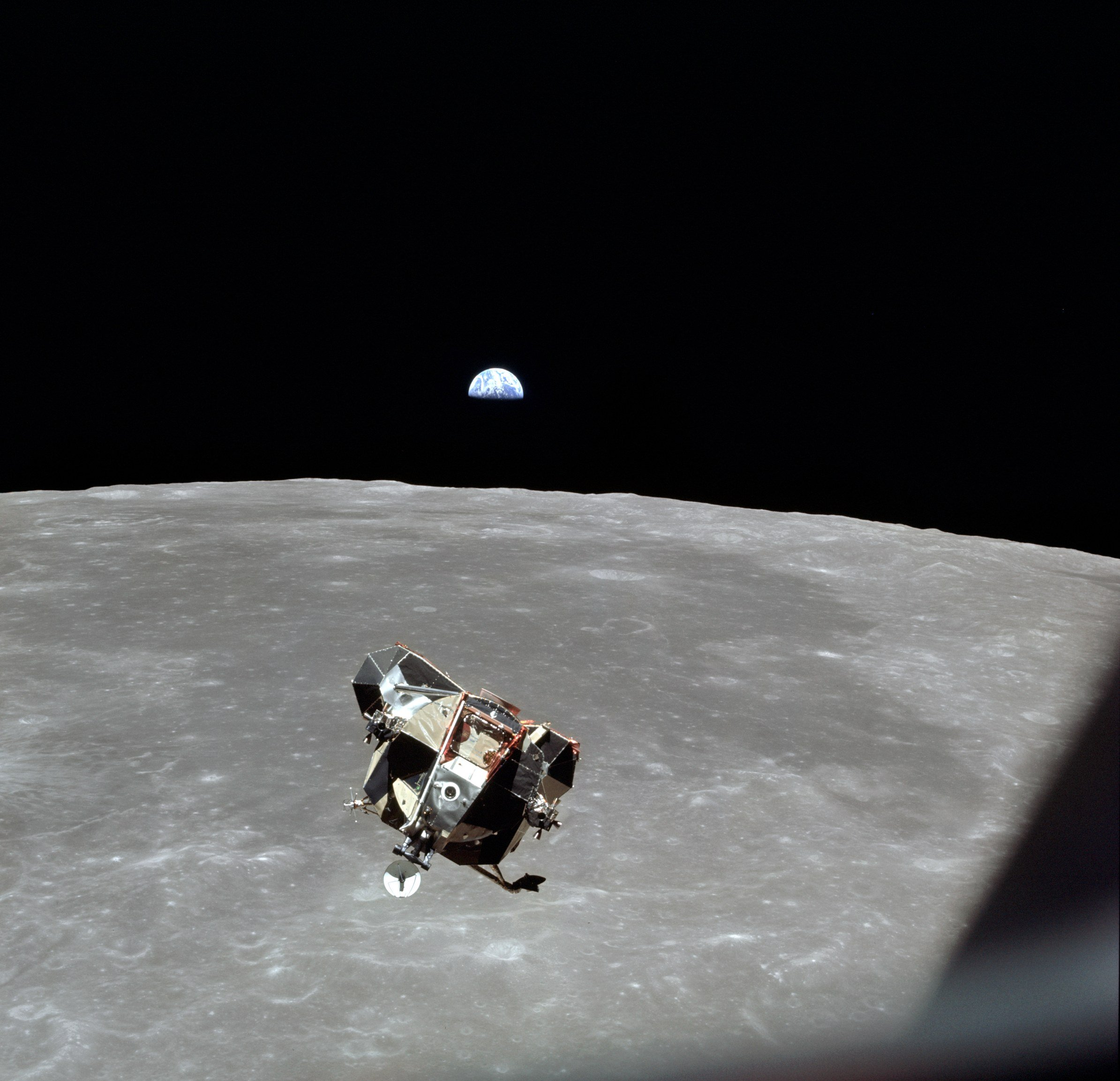 apollo 11 mission landing on the moon - photo #6