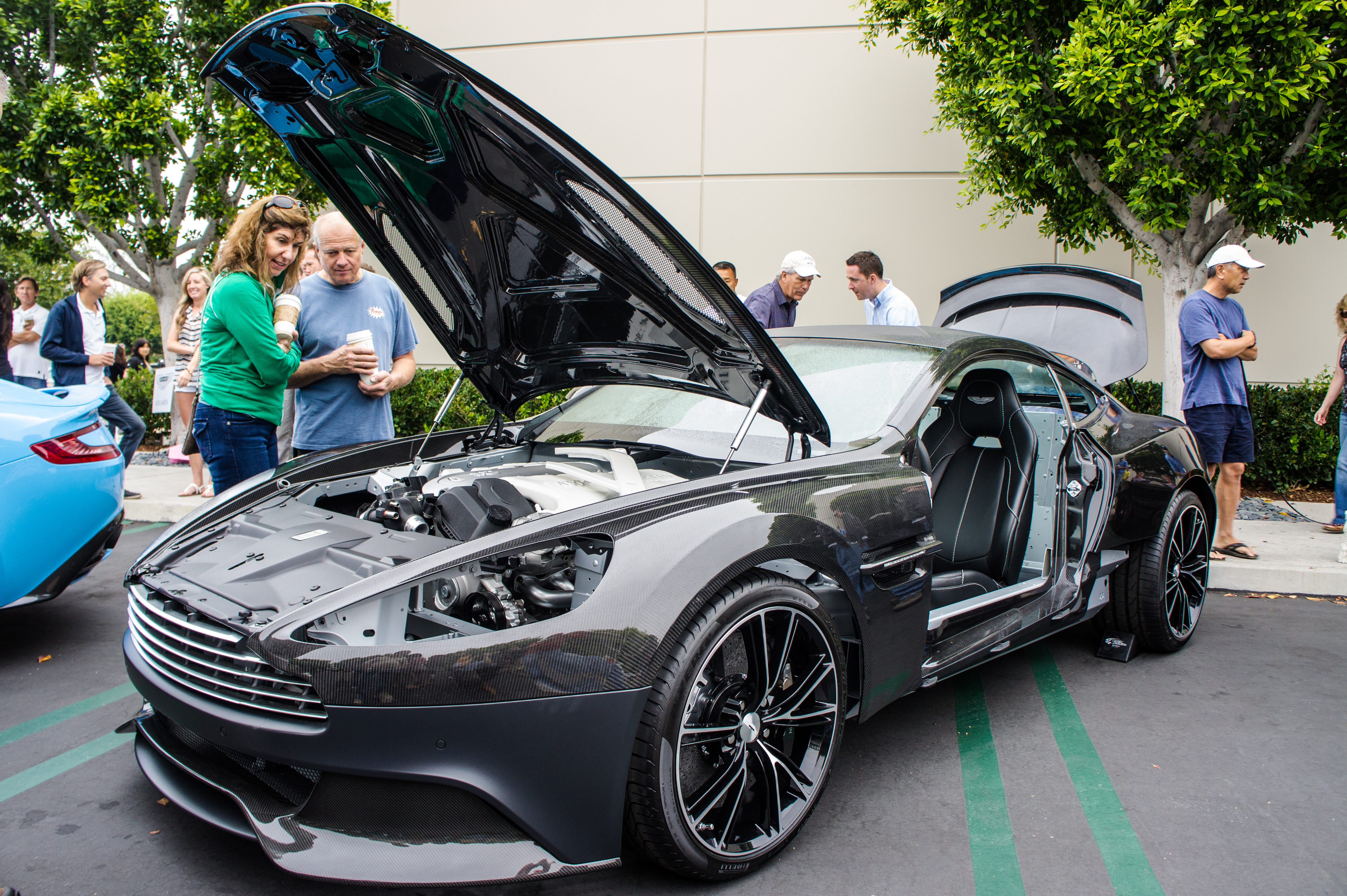 File:Aston Martin Vanquish show chassis (9).jpg ...   aston martin chassis