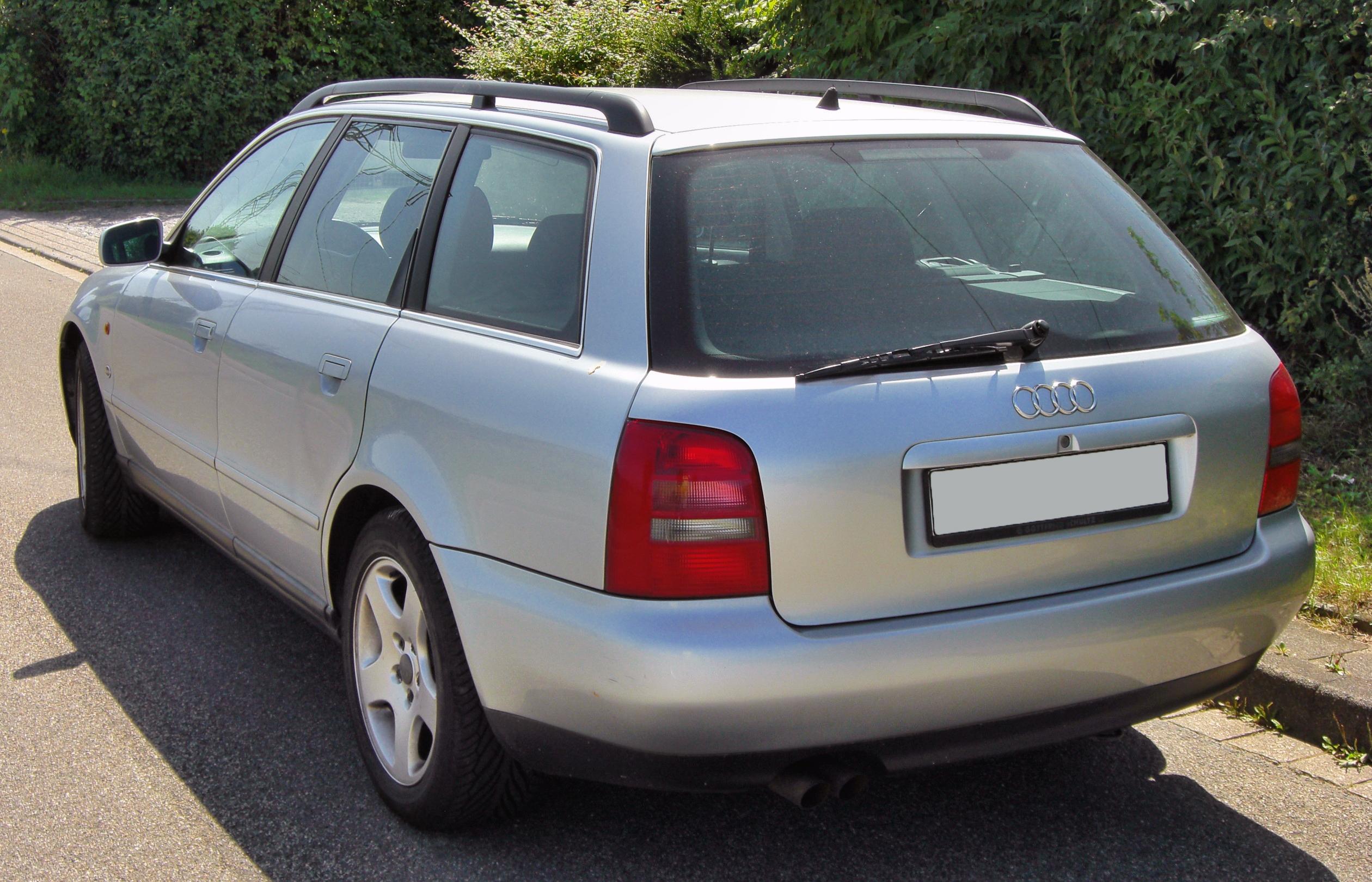 File:Audi A4 B5 Avant 20090815 rear.JPG - Wikimedia Commons