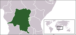 Location of Beļģu Kongo