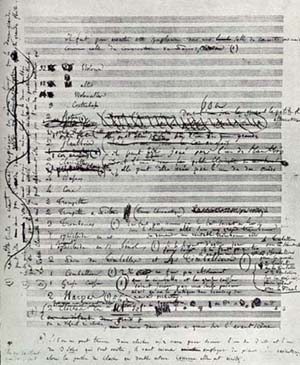 Hector Berlioz (1803 – 1869) First page of the...