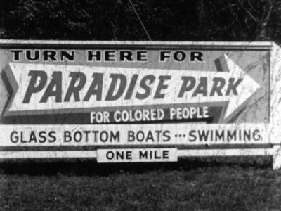 Billboard and direction for Paradise Park, Florida.jpg