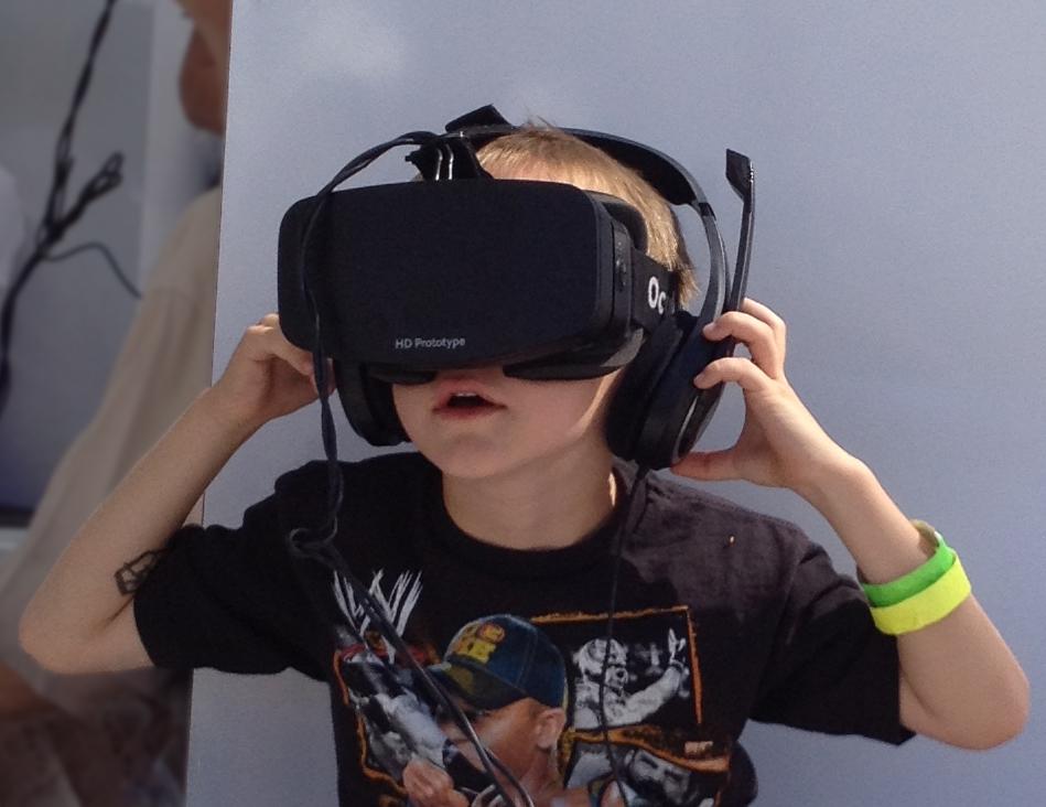 oculus rift bambino
