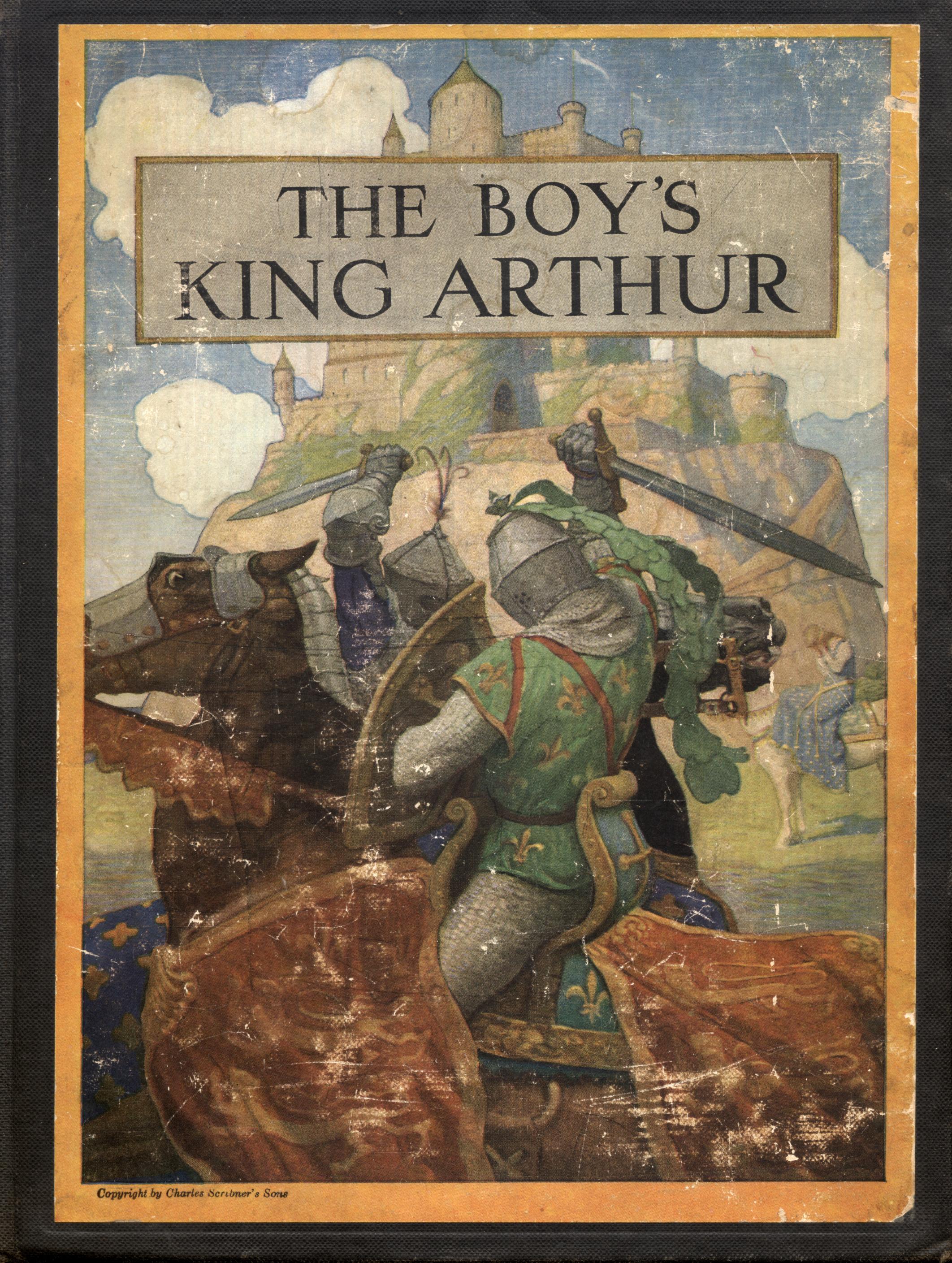 file boys king arthur n c wyeth cover jpg wikimedia commons