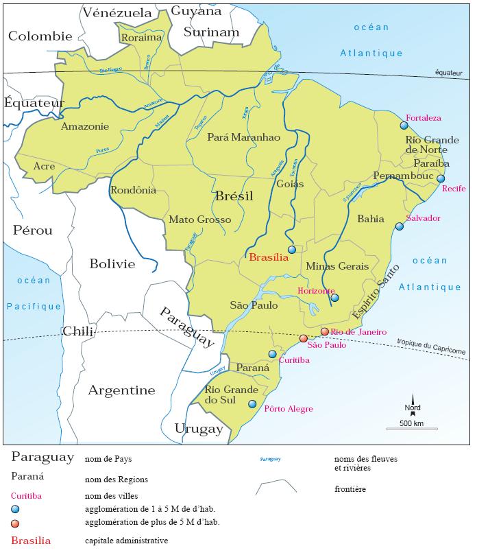 Carte Cote Bresil.Fichier Bresil Png Wikipedia