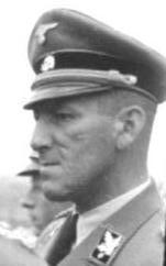 Ernst Kaltenbrunner Austrian-born senior official of Nazi Germany executed for war crimes