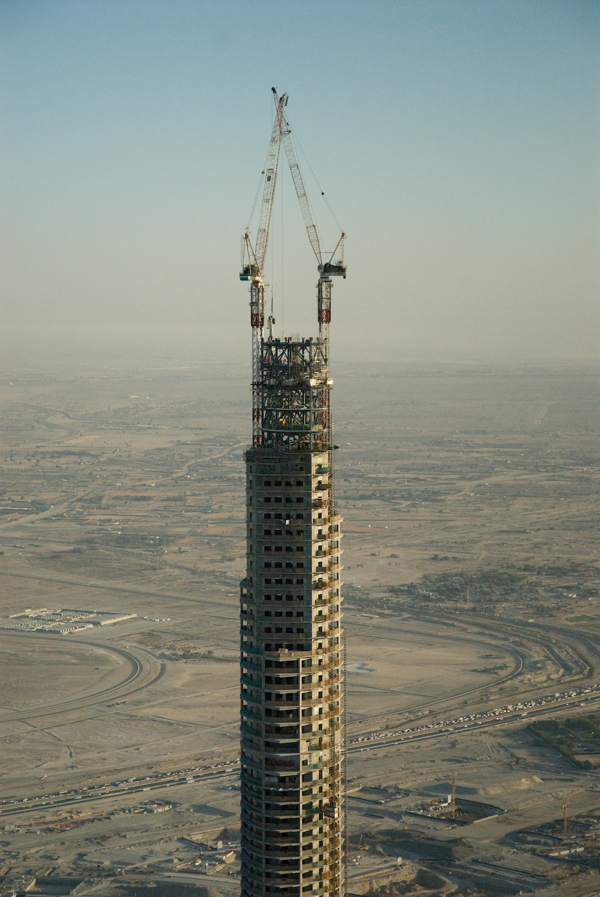 File burj dubai aerial wikimedia commons for Burj khalifa room rates