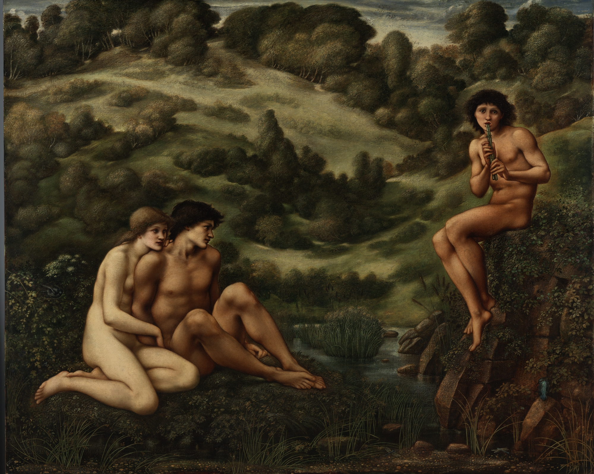 """The Garden of Pan"" by Edward Burne-Jones"