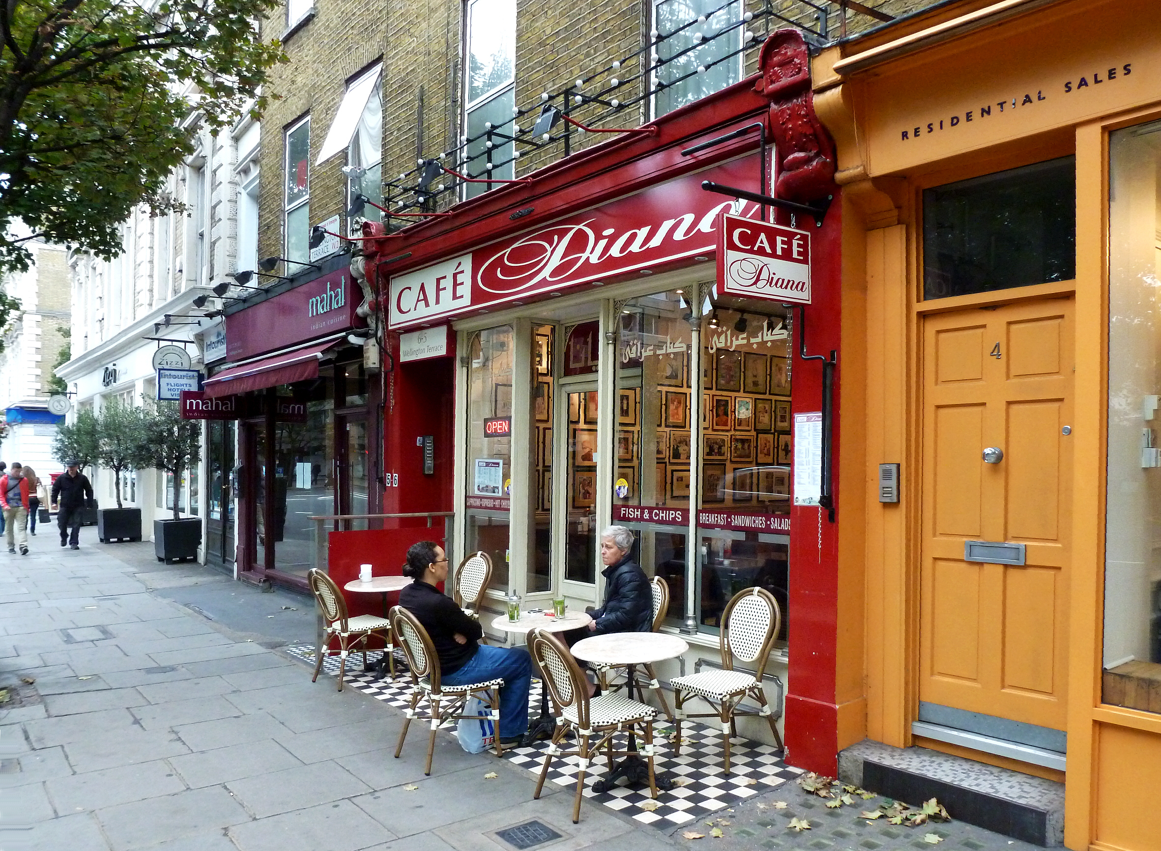 Cafe Diana London What Coffee Do They Use