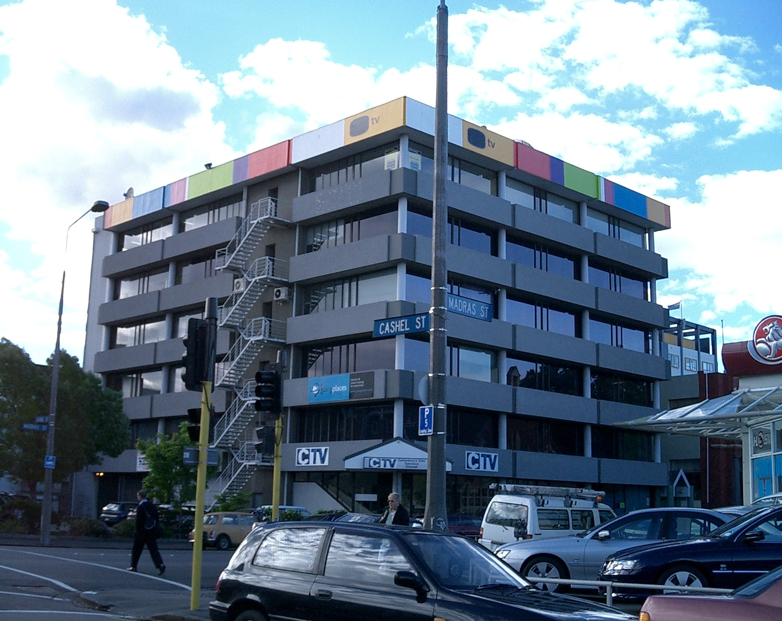Ctv building wikipedia for Christchurch architecture firms
