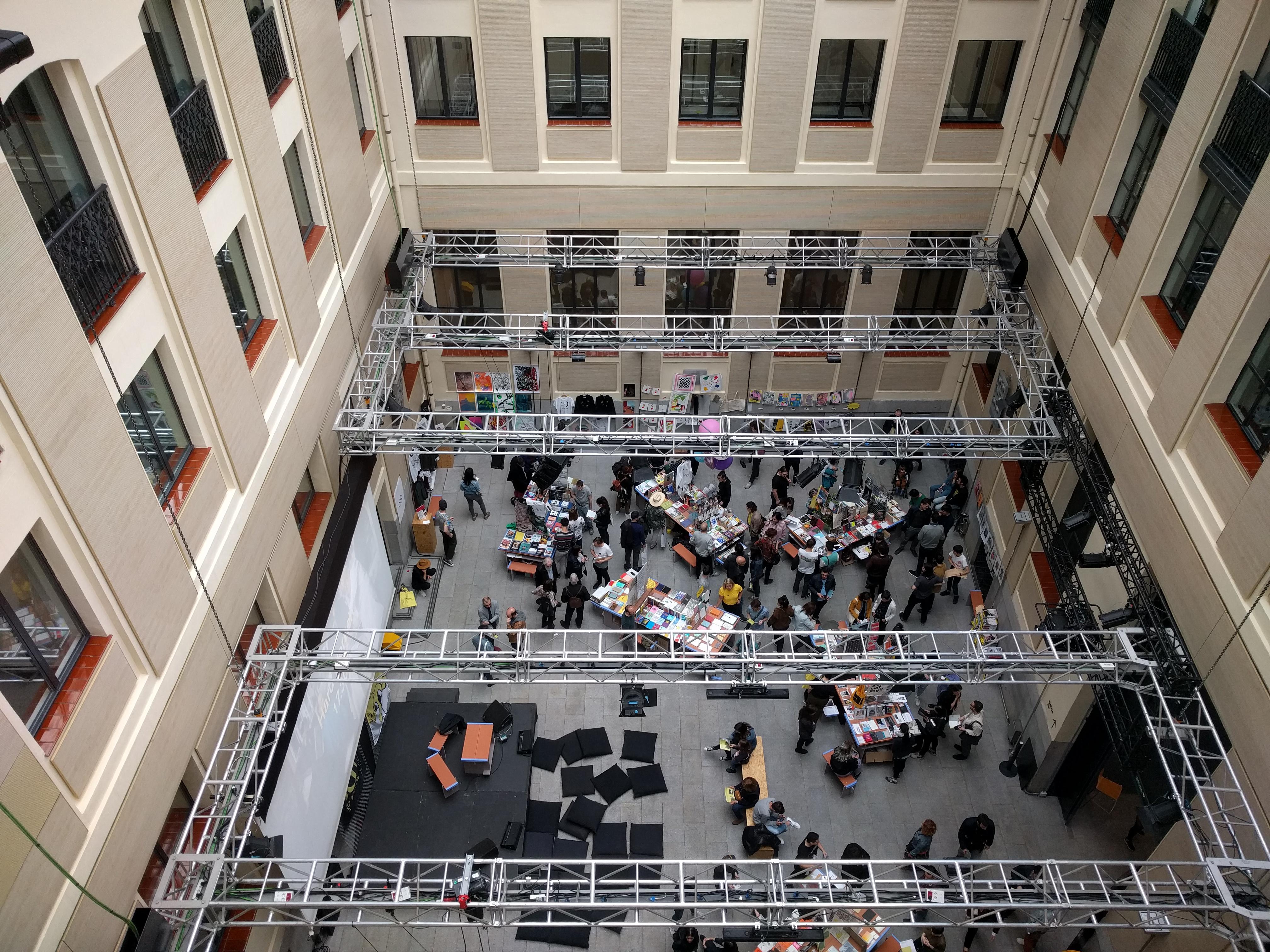 File Casa Encendida Patio Interior Madrid 2018 02 Jpg