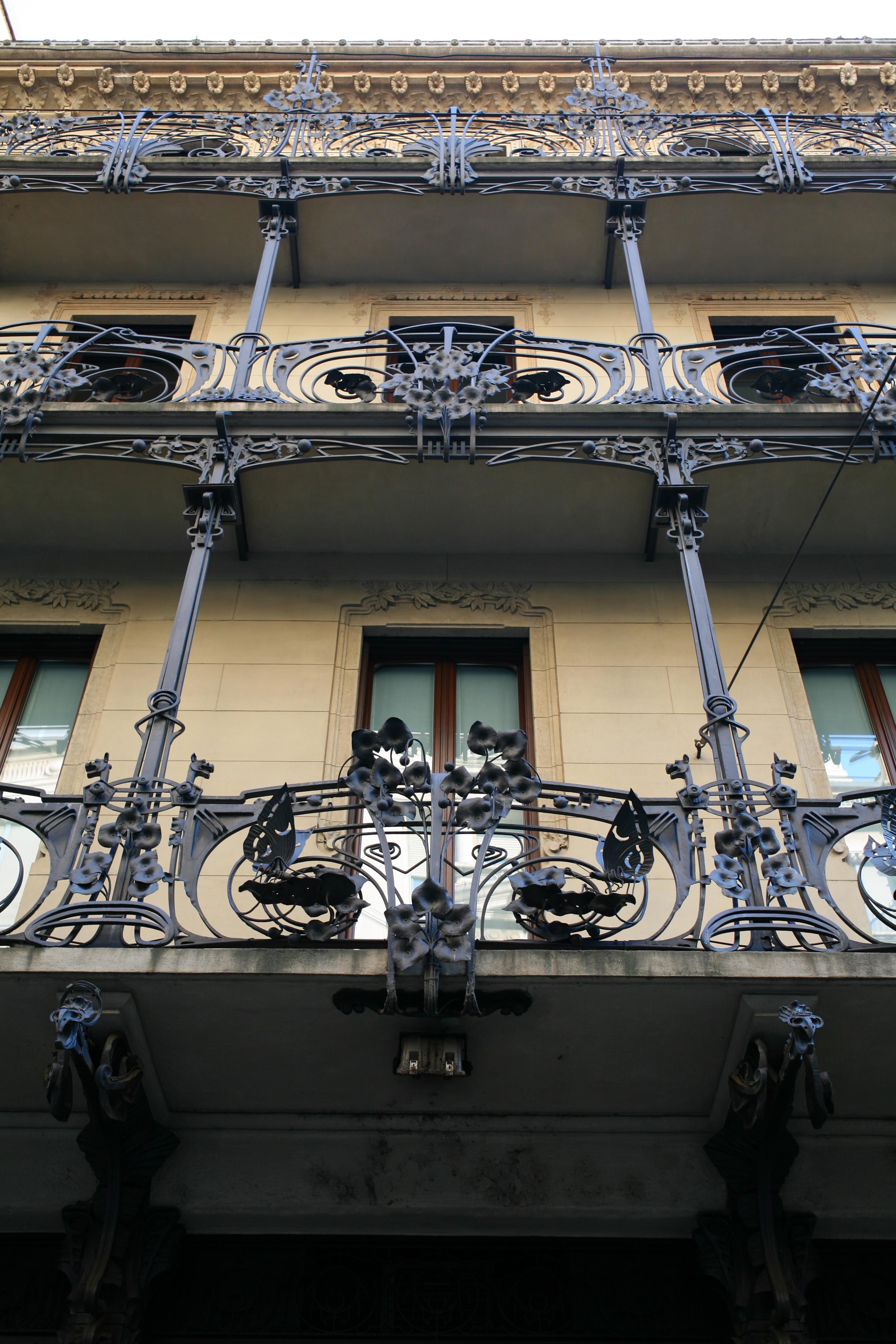 File Casa Ferrario Milano Particolare Della