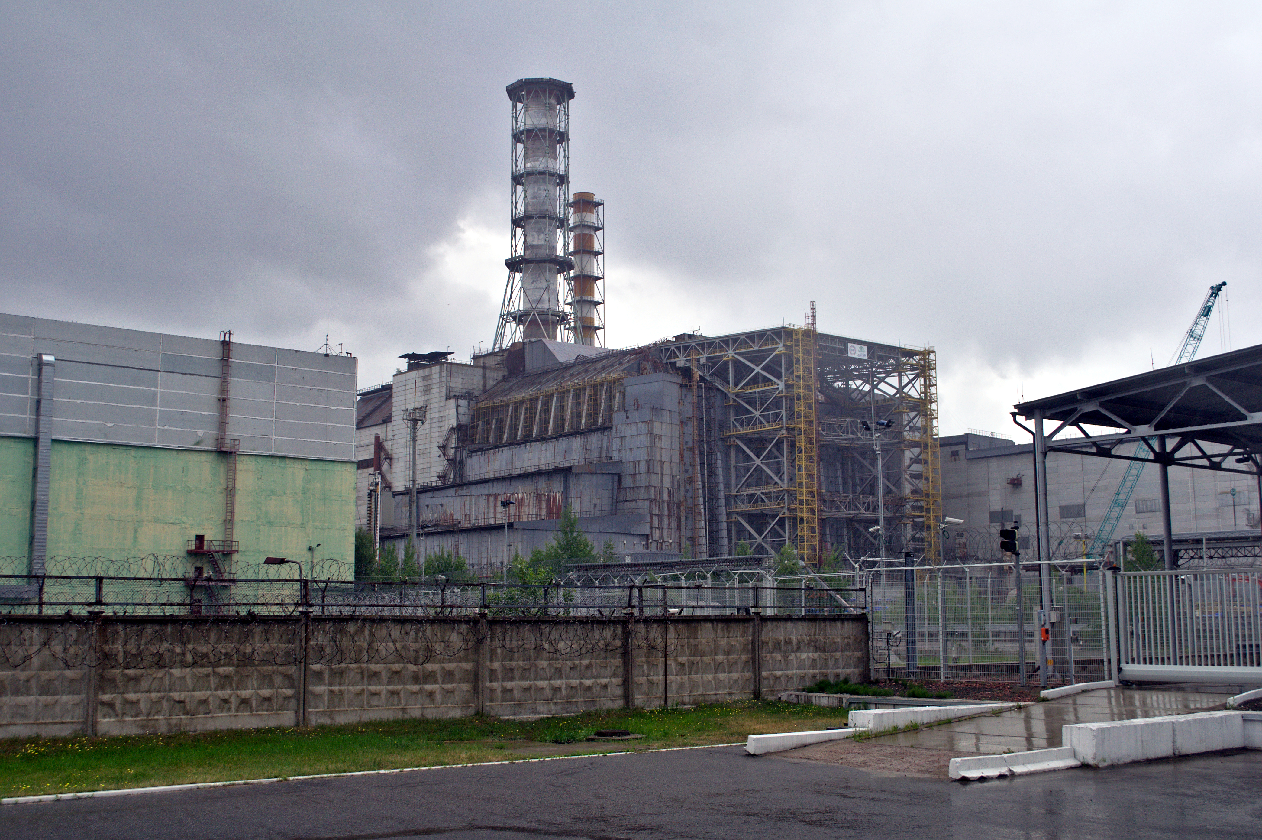 File Chernobyl power plant reactor 4 02 Wikimedia mons