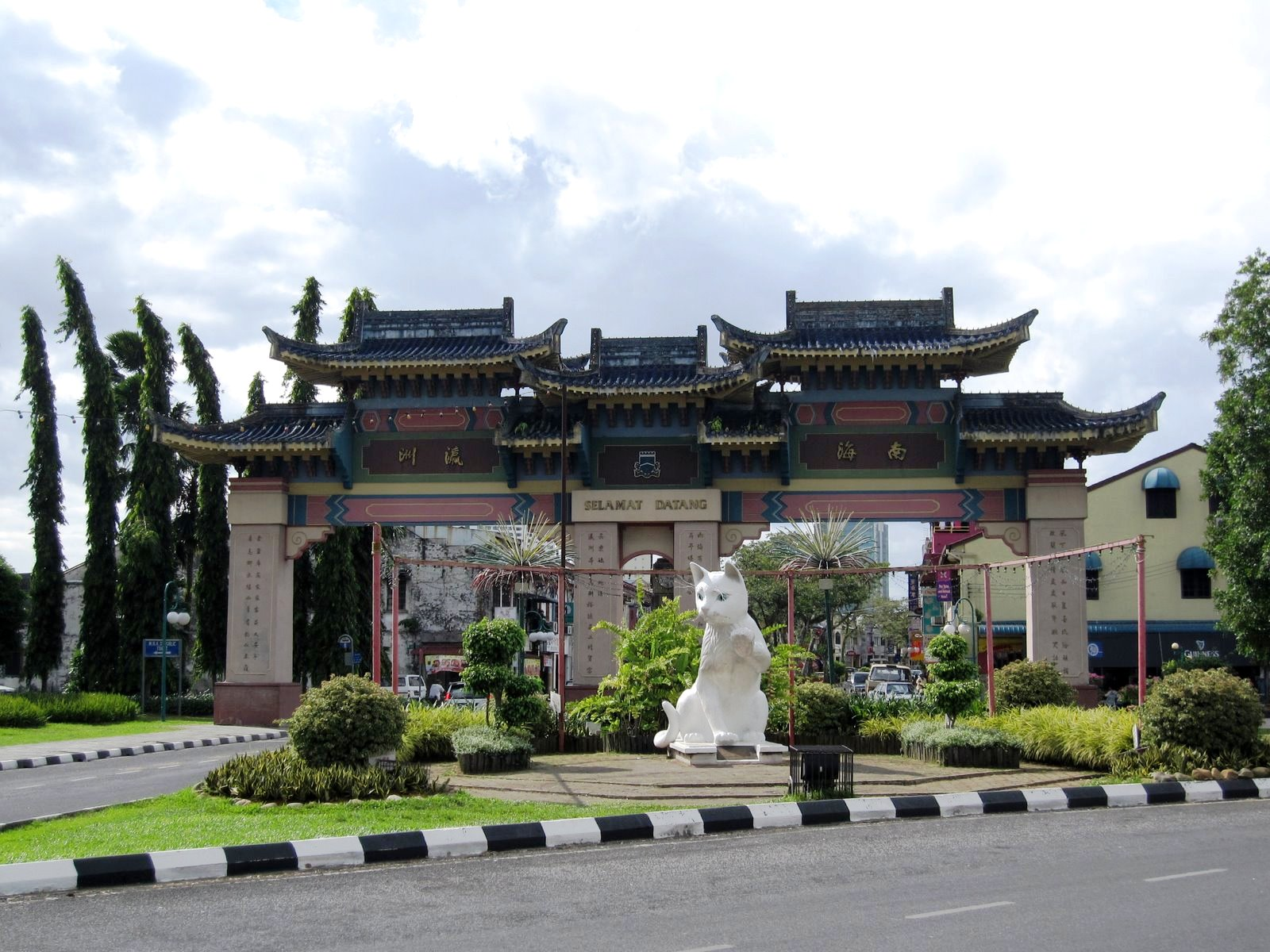 Chinatown in kuching